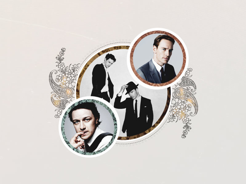 James McAvoy and Michael Fassbender wallpaper called Michael & James ★