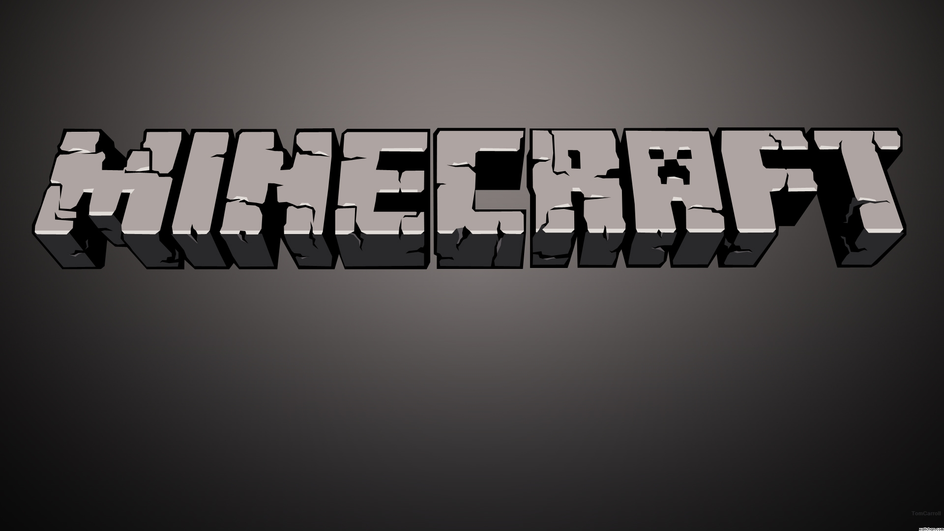 Minecraft Title Wallpaper