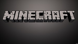 minecraft título wallpaper