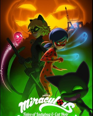 Miraculous Ladybug Halloween Special Poster