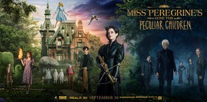 Miss Peregrine's Home for Peculiar Children (2016) Poster