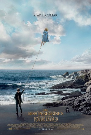 Miss Peregrine's home pagina for Peculiar Children - 'Stay Peculiar' Poster