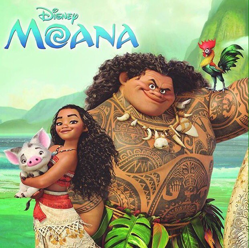Childhood Animated Movie Heroines karatasi la kupamba ukuta entitled Moana