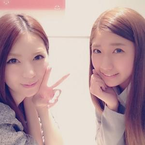 Morikawa Ayaka and Kikuchi Ayaka Instagram