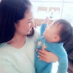Morikawa Ayaka and Kikuchi Ayaka's baby Instagram