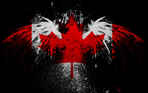 Most Beautiful Canadian Flag Обои
