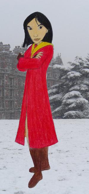 Mulan in Gryffindor