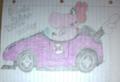 My finished third drawing of Birdo in her Wild Wing - mario-kart fan art