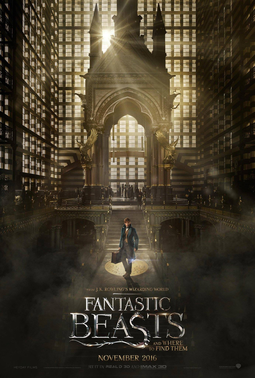Fantastic Beasts and Where to Find Them wallpaper possibly with a stained glass window called NOVEMBER