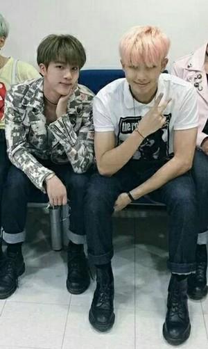 Namjin | Rapmon and Jin