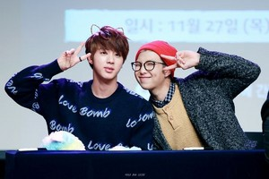 Namjin | Rapmon and Jin