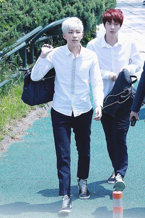 Riku114 Images Namjin Rapmon And Jin Hd Fond D Ecran And