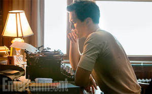 "Nicholas Hoult as J.D. Salinger in ""Rebel in the Rye"" Movie First Look"