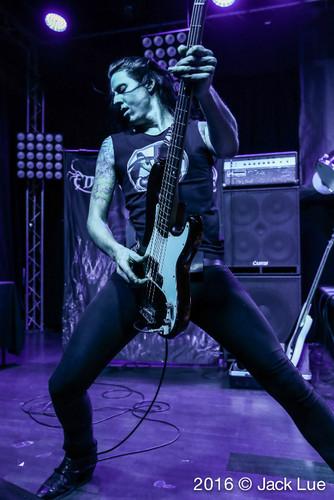 Metal wallpaper containing a guitarist and a concert titled Nick Erickson