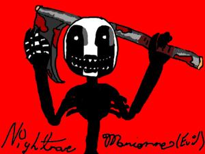 Nightmare Marionne Evil