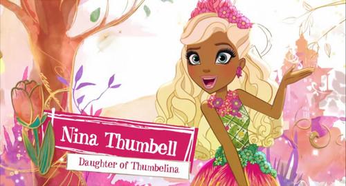 ever after high fondo de pantalla titled Nina Thumbell