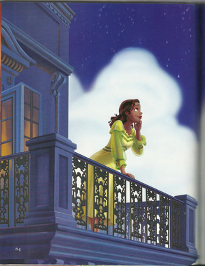 OFFICIAL Disney Art of Tiana with loose hair