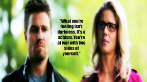 Oliver and Felicity 壁紙