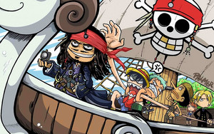 One Piece  Pirates of the Carribean Crossover