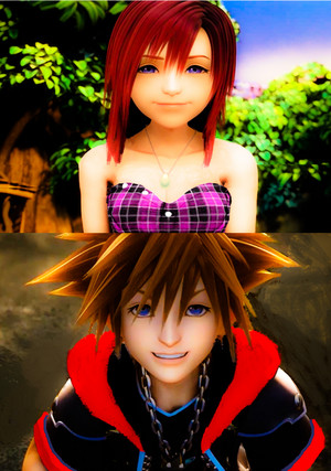One Sky. One Sea. One Destiny.  Sora x Kairi  edited