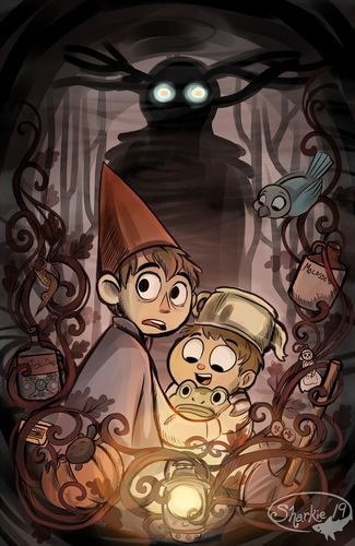 Over The Garden uithangbord achtergrond possibly with a compact disk called Over the Garden uithangbord 2