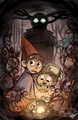 Over the Garden uithangbord 2