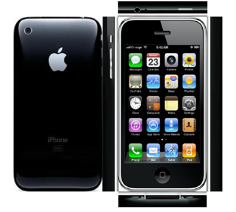Papercraft iPhone 3G 2