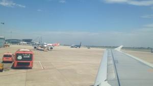 Passenger aircrafts at NIA