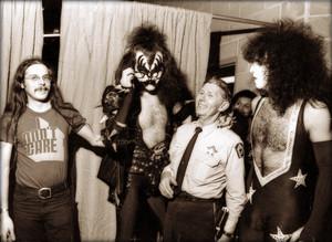 Paul and Gene ~Atlanta, Georgia...December 5, 1975 (Alive Tour)