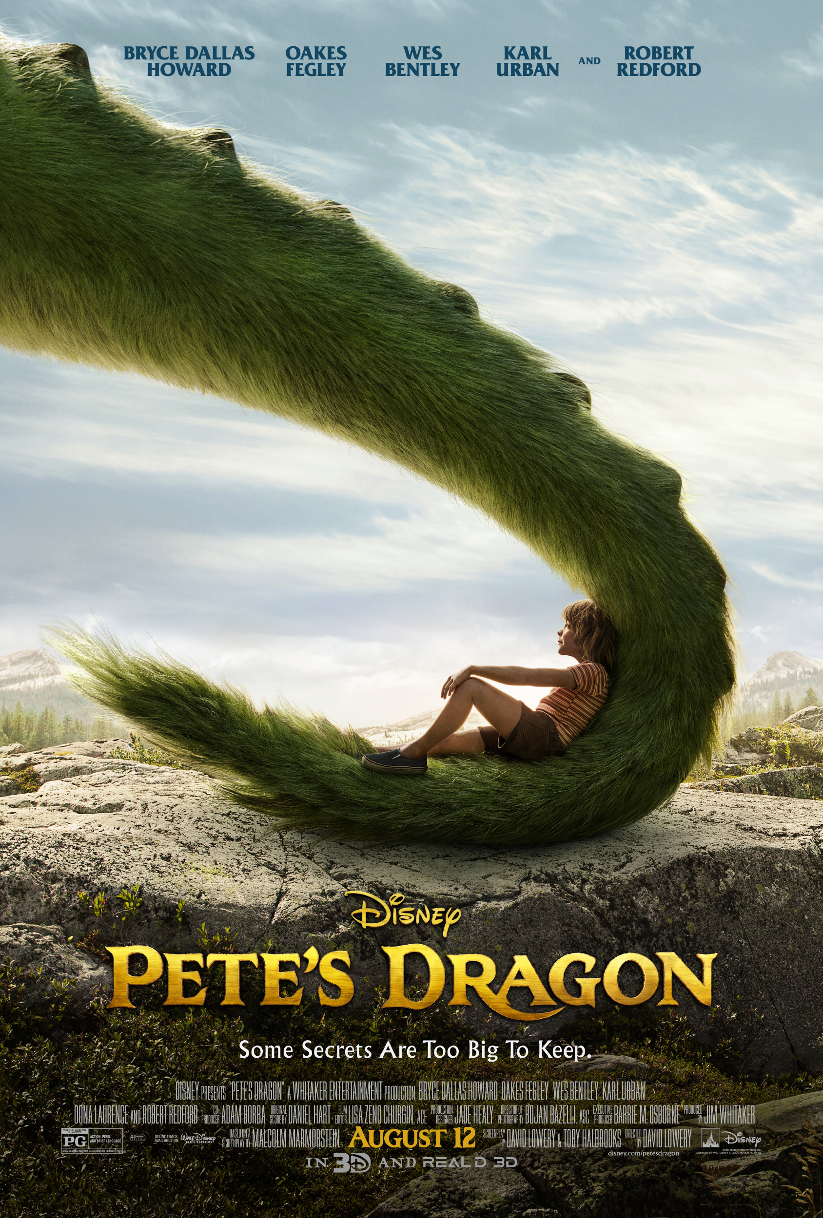 Petes Dragon Images 2016 Movie Poster HD Wallpaper And Background Photos