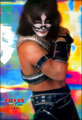Peter (NYC) June 1, 1977 (Circus Magazine Poster -Mylar session) - kiss photo
