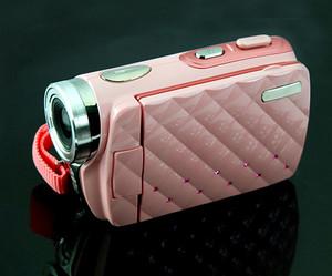 गुलाबी HD camcorder, कैमकॉर्डर