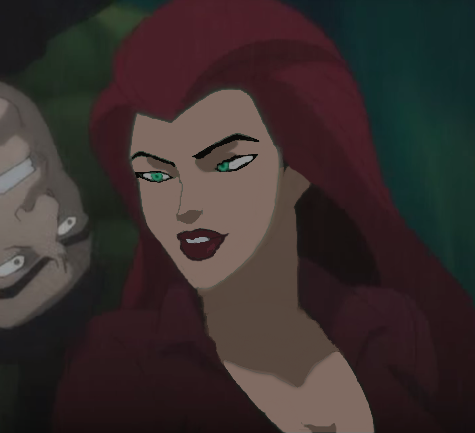Poison Ivy In Batman: Assault On Arkham with normal skin