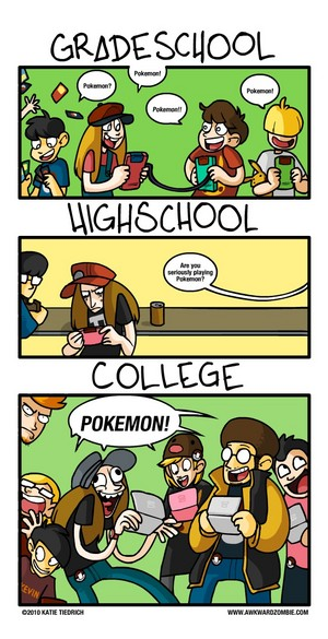 Pokémon: Grade School, High School and College