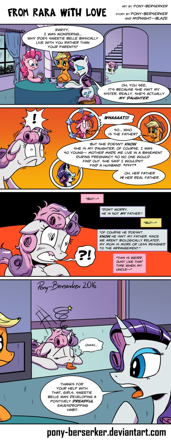 gppony, pony Comic