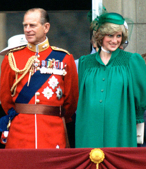 Prince Phillip and Princess Diana