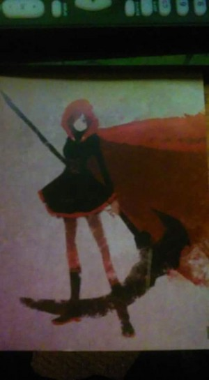 RWBY Ruby Rose Poster
