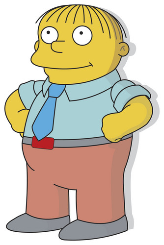 Ralph Wiggum wallpaper possibly with anime called Ralph Wiggum