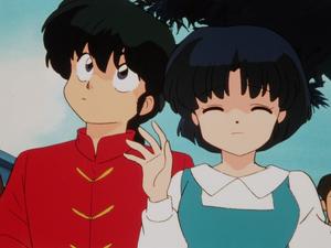Ranma ½ Ranma and Akane 乱馬とあかね