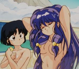 Ranma ½ Shanpū and Akane らんま½ シャンプーとあかね