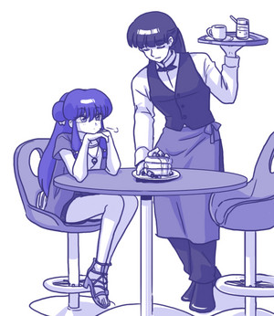 Ranma ½ Shanpū and Mūsu ムシャ