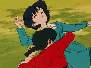 Ranma and Akane らんま1 2 乱馬とあかね