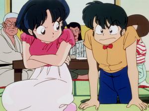 Ranma and Akane (Ranma1 2 Hard Battle) Ep047