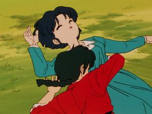 Ranma and Akane (Ranma1 2 Hard Battle)