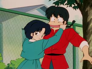 Ranma and Akane (乱馬とあかね)