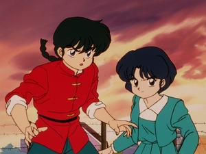 Ranma1 2 Ranma and Akane らんま1 2 乱あ(乱馬とあかね)