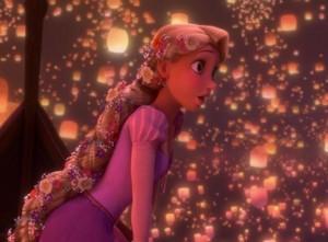 Rapunzel Sees the Lantern