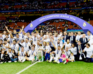 Real Madrid Úndecima Champions League Celebration