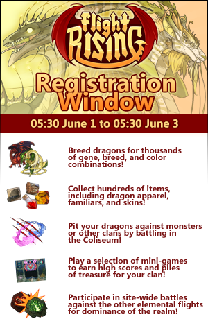 Registration Window! June 1 to 3! Присоединиться the Fun!