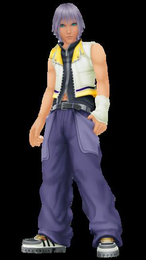 Riku Short Hair Face Version